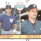 1988 Fleer #646 A.Peterson RC/R.Velarde