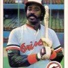1984 Fleer #14 Eddie Murray