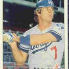 1984 Fleer #117 Steve Yeager