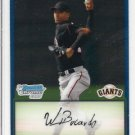 2009 Bowman Chrome Prospects #BCP54 Wilber Bucardo