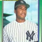 1990 Topps #701 Bernie Williams