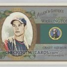 2008 Topps Allen and Ginter United States #US47 Grady Sizemore