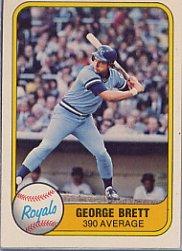 1981 Fleer #655 George Brett