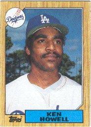 1987 Topps #477 Ken Howell
