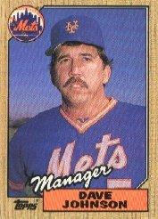 1987 Topps #543 Dave Johnson