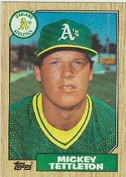 1987 Topps #649 Mickey Tettleton