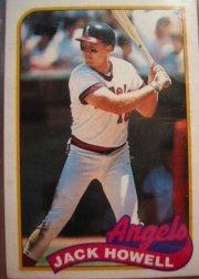 1989 Topps #216 Jack Howell