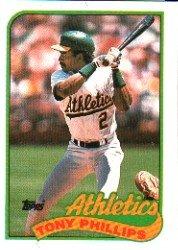 1989 Topps #248 Tony Phillips