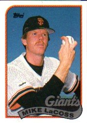 1989 Topps #417 Mike LaCoss