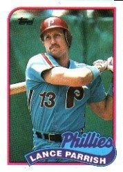 1989 Topps #470 Lance Parrish