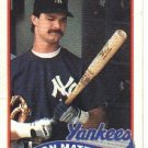 1989 Topps #700 Don Mattingly