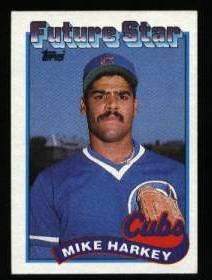 1989 Topps #742 Mike Harkey