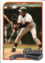 1989 Topps #753 Jose Uribe