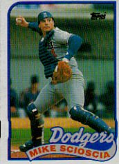 1989 Topps #755 Mike Scioscia