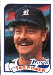 1989 Topps #777 Ted Power