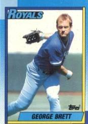 1990 Topps #60 George Brett