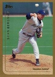 1999 Topps #38 Sean Bergman