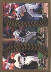 1999 Topps #455 Bonds/Ramirez/Walker