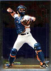 1999 Topps Chrome #340 Mike Piazza