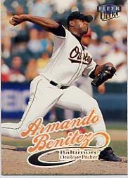 1999 Ultra #123 Armando Benitez
