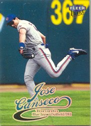 1999 Ultra #206 Jose Canseco