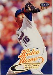 1999 Ultra #208 Hideo Nomo