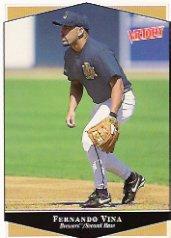 1999 Upper Deck Victory #211 Fernando Vina