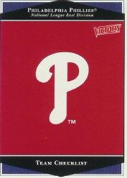 1999 Upper Deck Victory #290 Philadelphia Phillies TC