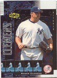 2000 UD Ionix #58 Roger Clemens