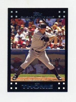 2007 Topps #481B Jim Thome