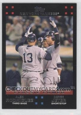 2007 Topps #657 A.Rodriguez/D.Jeter