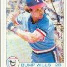 1979 Topps #369A Bump Wills ERR Blue Jays