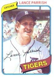 1980 Topps #196 Lance Parrish