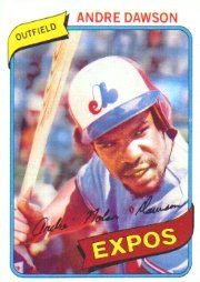1980 Topps #235 Andre Dawson