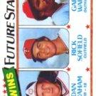 1980 Topps #669 Dan Graham RC/Rick Sofield/Gary Ward RC