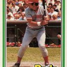 1981 Donruss #302 Joe Nolan RC