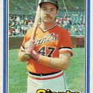1981 Donruss #313 Dennis Littlejohn