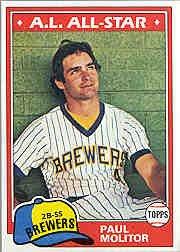 1981 Topps #300 Paul Molitor