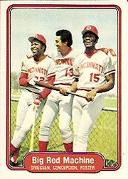 1982 Fleer #630 Big Red Machine
