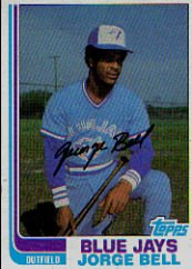 1982 Topps #254 George Bell