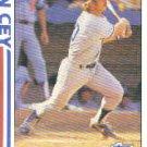 1982 Topps #411 Ron Cey SA