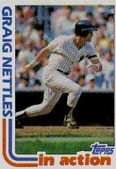 1982 Topps #506 Graig Nettles SA