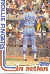 1982 Topps #586 Rollie Fingers SA
