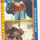 1983 Topps #241 Rich Gossage