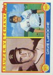 1983 Topps #334 Dave LaRoche