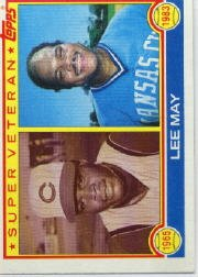 1983 Topps #378 Lee May