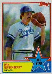 1983 Topps #396 Dan Quisenberry