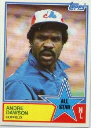 1983 Topps #402 Andre Dawson