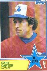1983 Topps #404 Gary Carter