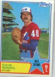 1983 Topps #405 Steve Rogers